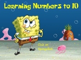 SpongeBob Learning Numbers to 10