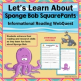 SpongeBob SquarePants Trivia Web Quest Internet Scavenger Hunt