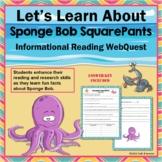 SpongeBob SquarePants Trivia Webquest Internet Scavenger Hunt