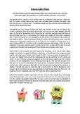 Spongebob Safety Reading