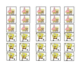 Spongebob Token Board