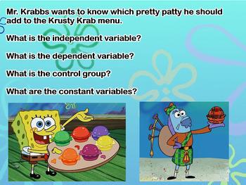 Spongebob Science: Variables