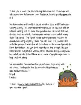 descriptive essay on haunted house