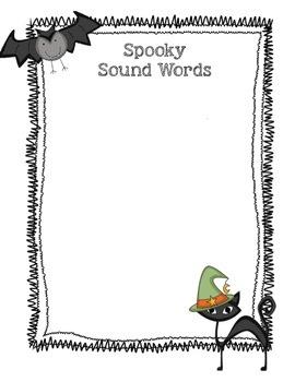 Spook House: Sensory Details and Descriptive Writing (Haunted House)