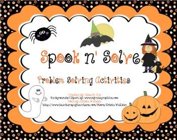 Spook N Solve: a Problem Solving Pack