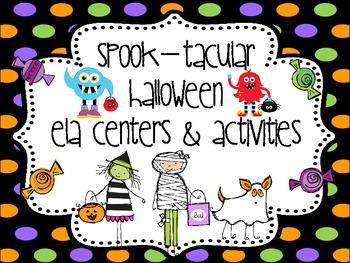 Halloween ELA Centers
