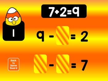 Spook-tacular Math – Related Facts Interactive PowerPoint Game