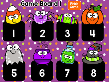 Spook-tacular Nouns – Find the Nouns Interactive PowerPoint Game