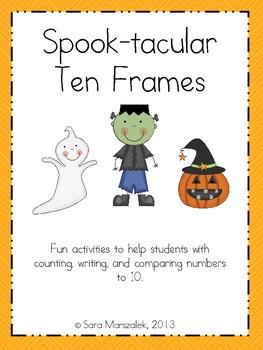 Spook-tacular Ten Frames