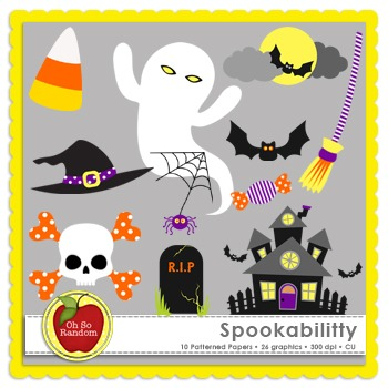 Spookabilitty {Graphics for Commercial Use}