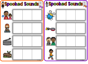 Spooked Sounds- CVC words