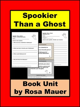 Spookier Than a Ghost Book Unit