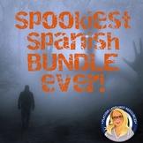 Spookiest Spanish Bundle EVER! Multi-level resources!