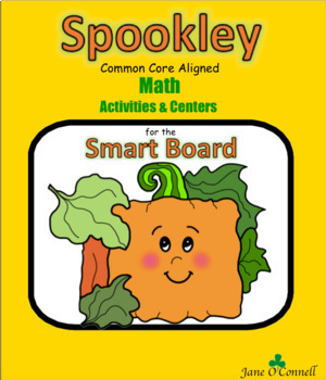 Spookley Math Centers & Activities for the Smart Board