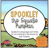 Spookley (Speech Therapy Book Companion)