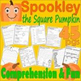 Spookley Square Pumpkin  Halloween Book Companion Reading