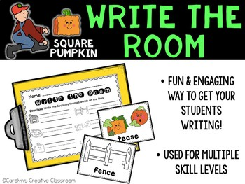 Spookley Square Pumpkin - October Write the Room