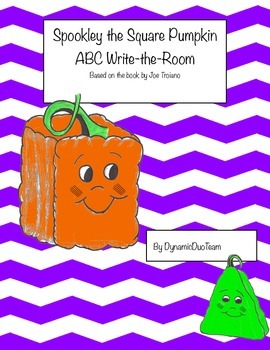 Spookley The Square Pumpkin, ABC Write-the-Room!