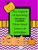 Spookley The Square Pumpkin Close Read Lesson & Craft