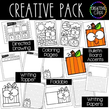 Spookley The Square Pumpkin Creative Pack {Made by Creative Clips}