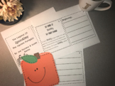 Spookley The Square Pumpkin Writing Craft