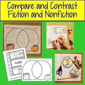 Spookley The Square Pumpkin and The Pumpkin Book Fiction & Nonfiction Comparison