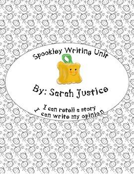 Spookley Writing Unit
