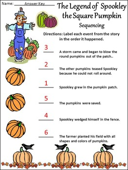 Spookley The Square Pumpkin Activity Packet By Ann
