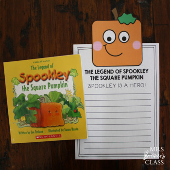 Spookley The Square Pumpkin By Anita Bremer Teachers Pay Teachers Spookley The Square Pumpkin Coloring Pages