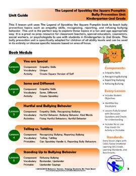 Spookley the Square Pumpkin-Bully Prevention Unit