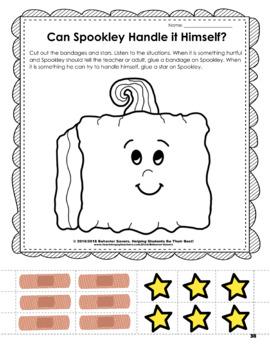 Spookley the Square Pumpkin: Bully Prevention Unit-Kindergarten-2nd Grade