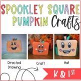 Spookley the Square Pumpkin Craft and Hat
