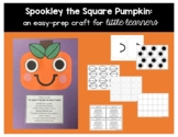 Spookley the Square Pumpkin: An easy-prep craft for little learners