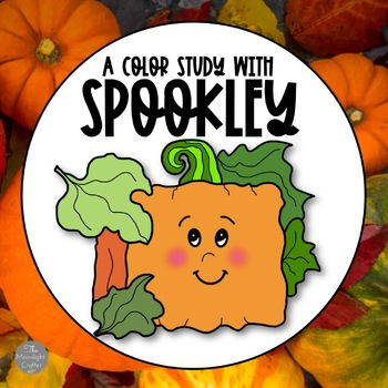 Spookley the Square Pumpkin-Color Activities and Book
