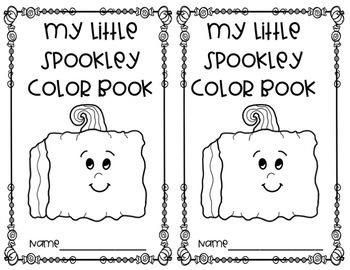 Spookley The Square Pumpkin Color Activities And Book Tpt Spookley The Square Pumpkin Coloring Pages