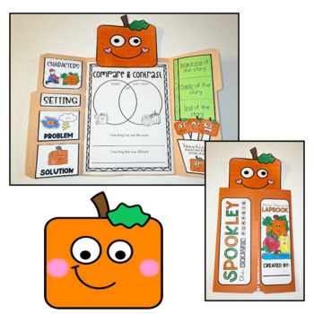 Spookley the Square Pumpkin {Lapbook & Flipbook for October}