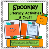 Spookley the Square Pumpkin Literacy Activities & Craft- K