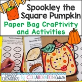 Spookley the Square Pumpkin Paper Bag Craftivity and Activities {Common Core}
