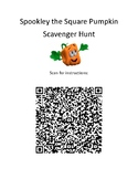 Spookley the Square Pumpkin - QR Code Scavenger Hunt - Fal