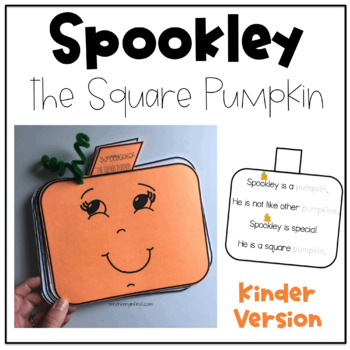 Spookley the Square Pumpkin for Kinders