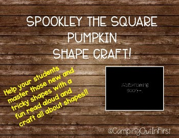 Spookley the Square Pumpkin Shape Craft