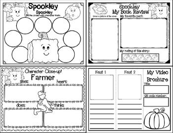 Spookley, the Square Pumpkin (Story Companion w/story and nonfiction QR codes)