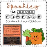 Spookley the Square Pumpkin Summarizing Flip book & Paperl