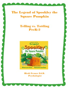Spookley the Square Pumpkin Telling vs Tattling