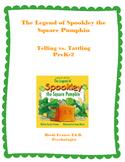 Spookley the Square Pumpkin Telling vs Tattling