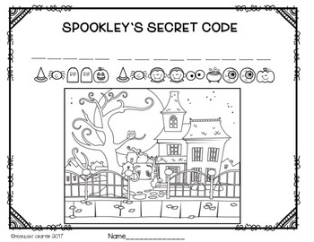 Spookley the Square Pumpkin's Secret Messages