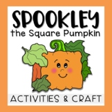 Spookly the Square Pumpkin Activities, Craft, & Bulletin Board