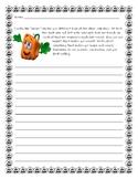 Spookly the Square Pumpkin Personal Narrative