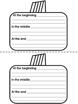 Spookly the Square Pumpkin Writing Booklet - EDITABLE