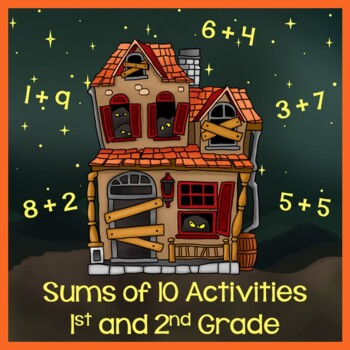 Addition - Find Sums of 10 - Spooktacular